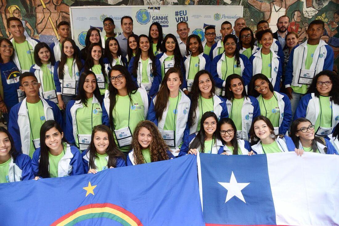 Ganhe o Mundo leva alunos ao Chile