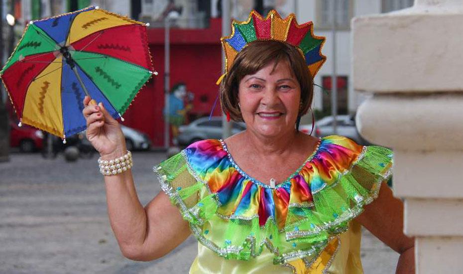 Nizete Félix herdou do pai a paixão pelo Carnaval
