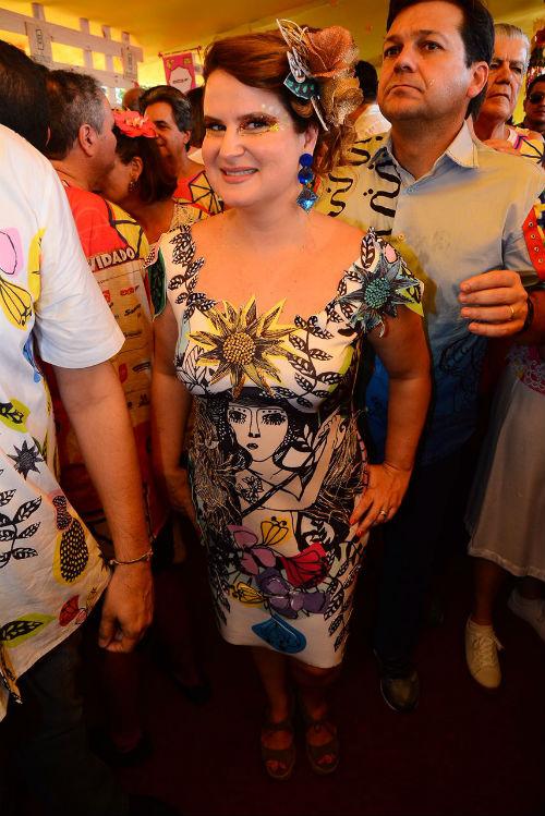 Ana Luiza reverenciou o movimento armorial