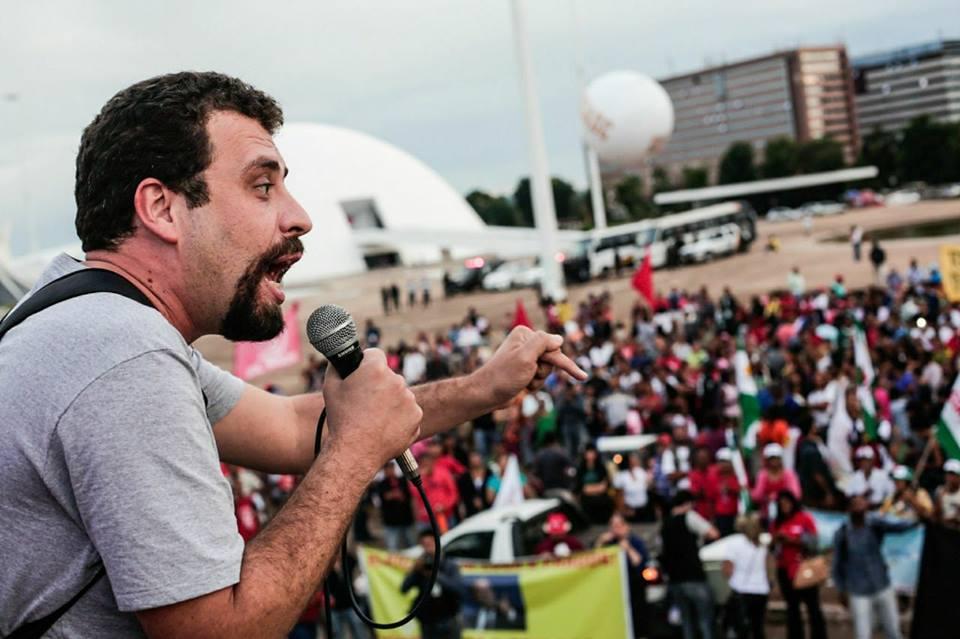 Guilherme Boulos, pré-candidato a presidente pelo PSOL