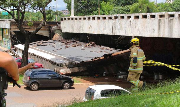 Desabamento de viaduto em Brasília