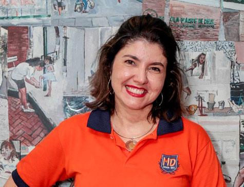 Christiana Cruz, do Colégio Madre de Deus
