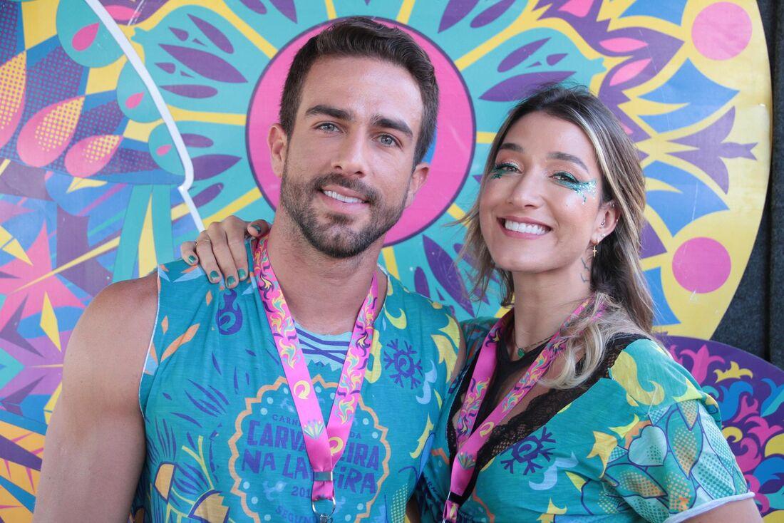 Erasmo Viana e Gabriela Pugliesi no Carvalheira na Ladeira