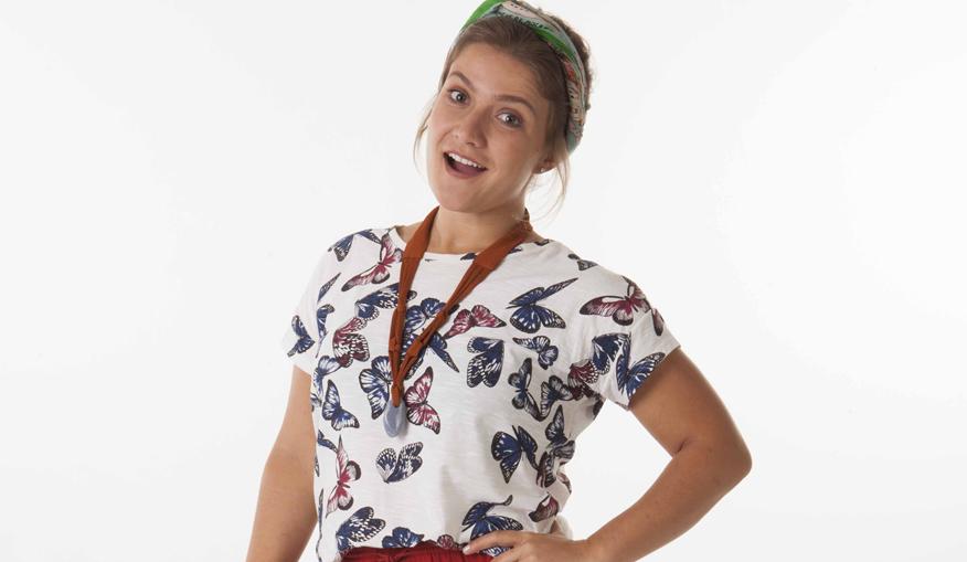 Rai Teichimam é Fátima em 'Carinha de Anjo'