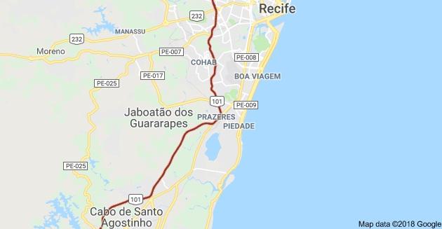 BR 101, Jaboatão dos Guararapes