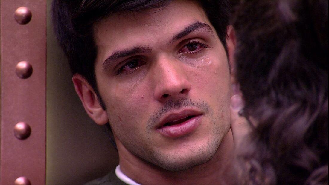 Lucas foi indicado por Kaysar, que foi sorteado e ele teve que indicar alguém para o paredão na mesma hora