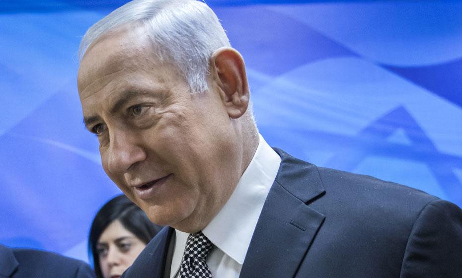 Primeiro-ministro israelense, Benjamin Netanyahu