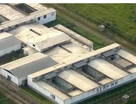 Penitenciária Milton Dias Moreira, em Japeri, na Baixada Fluminense