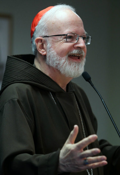Sean O'Malley é o cardeal escolhido para presidir comissão