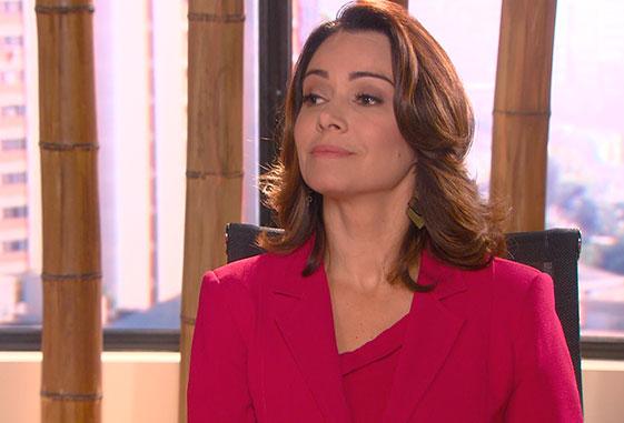 Silvana Soares, personagem de Silvia Franceschi em 'Carinha de Anjo'