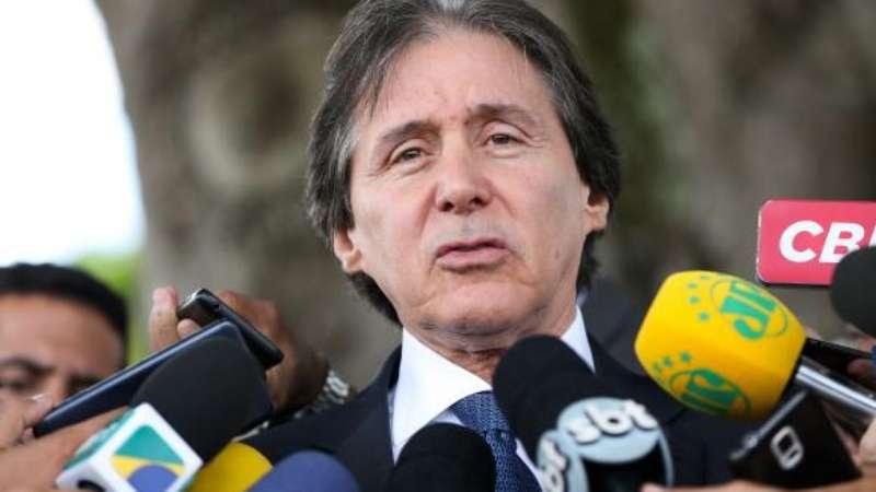 Senado aguarda envio de projetos sobre segurança que passam pela Câmara, diz o presidente do Senado, Eunício Oliveira