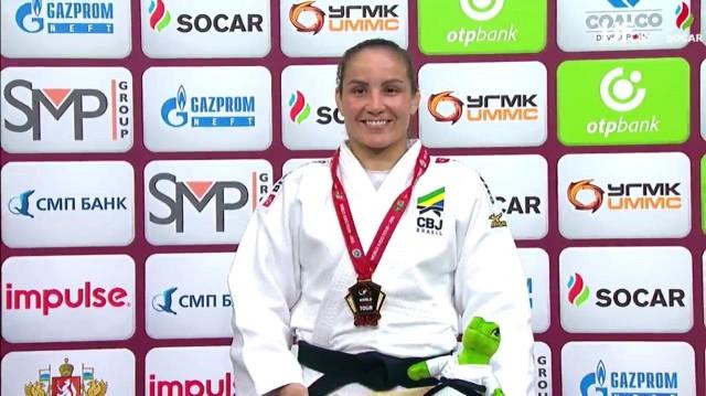 Maria Portela foi a única brasileira a ganhar ouro na Rússia