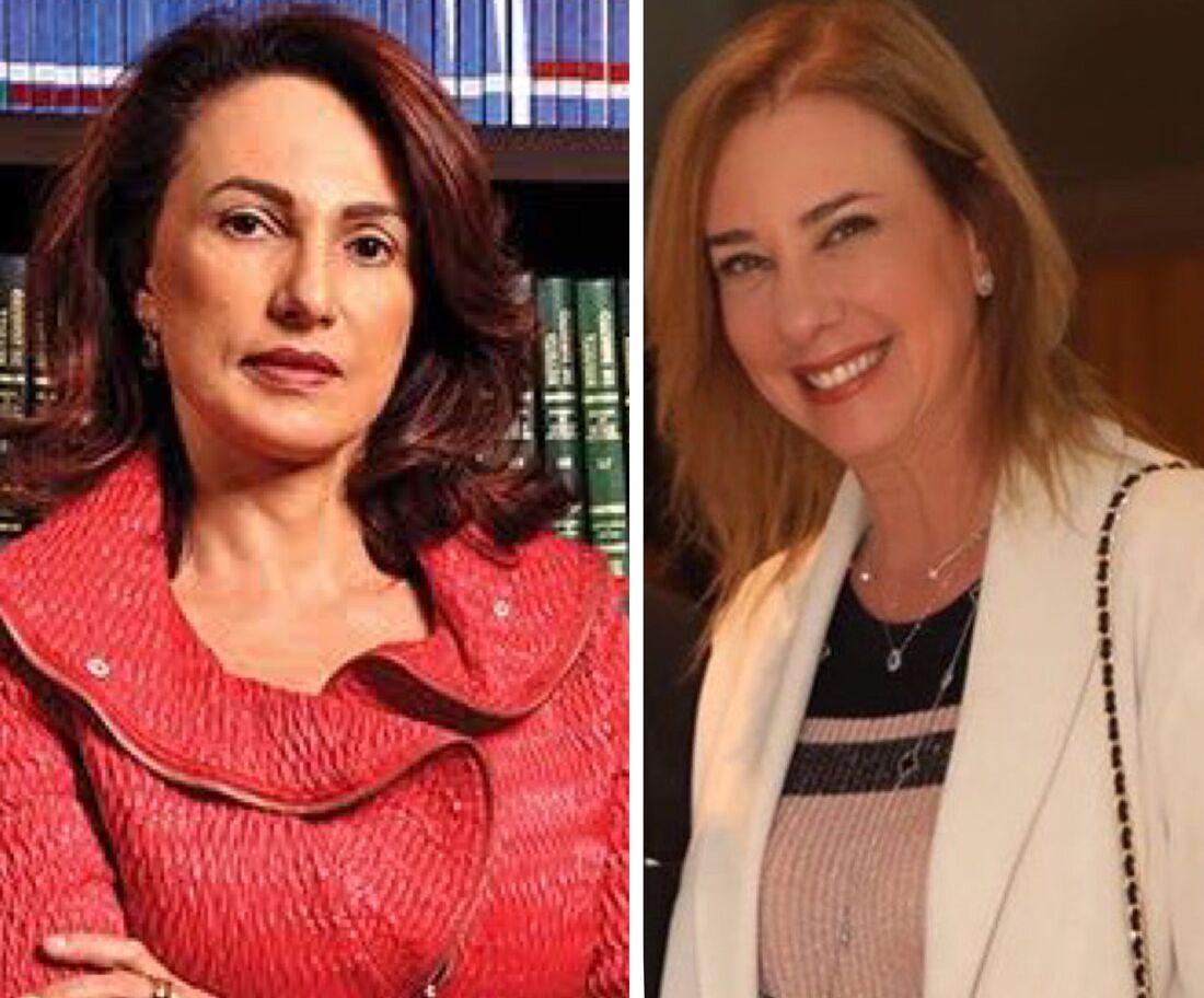 A advogada Mary Elbe Queiroz e a empresária Sophia Lins são algumas das que participam do evento