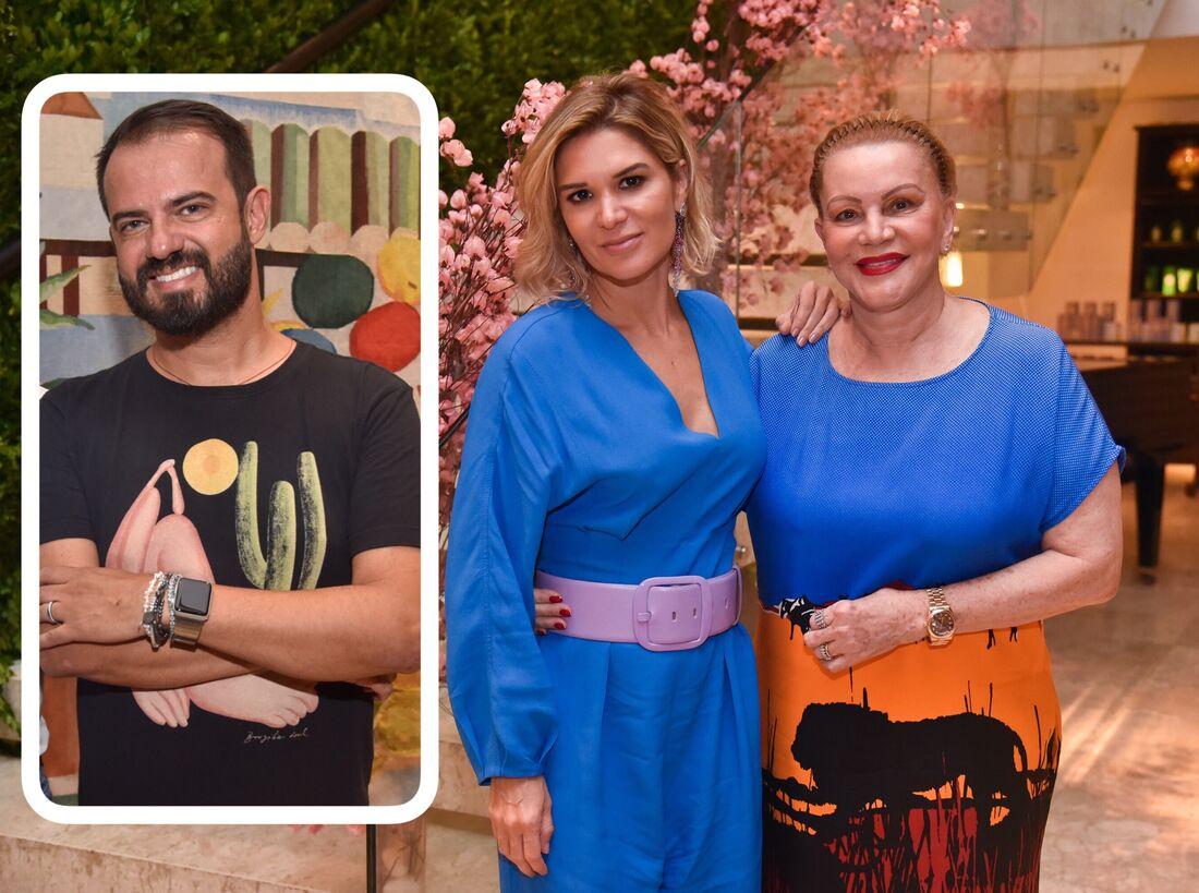Léo Silva é o novo confirmado no Salão da Dona Santa, que será comandado por Juliana e Lília Santos