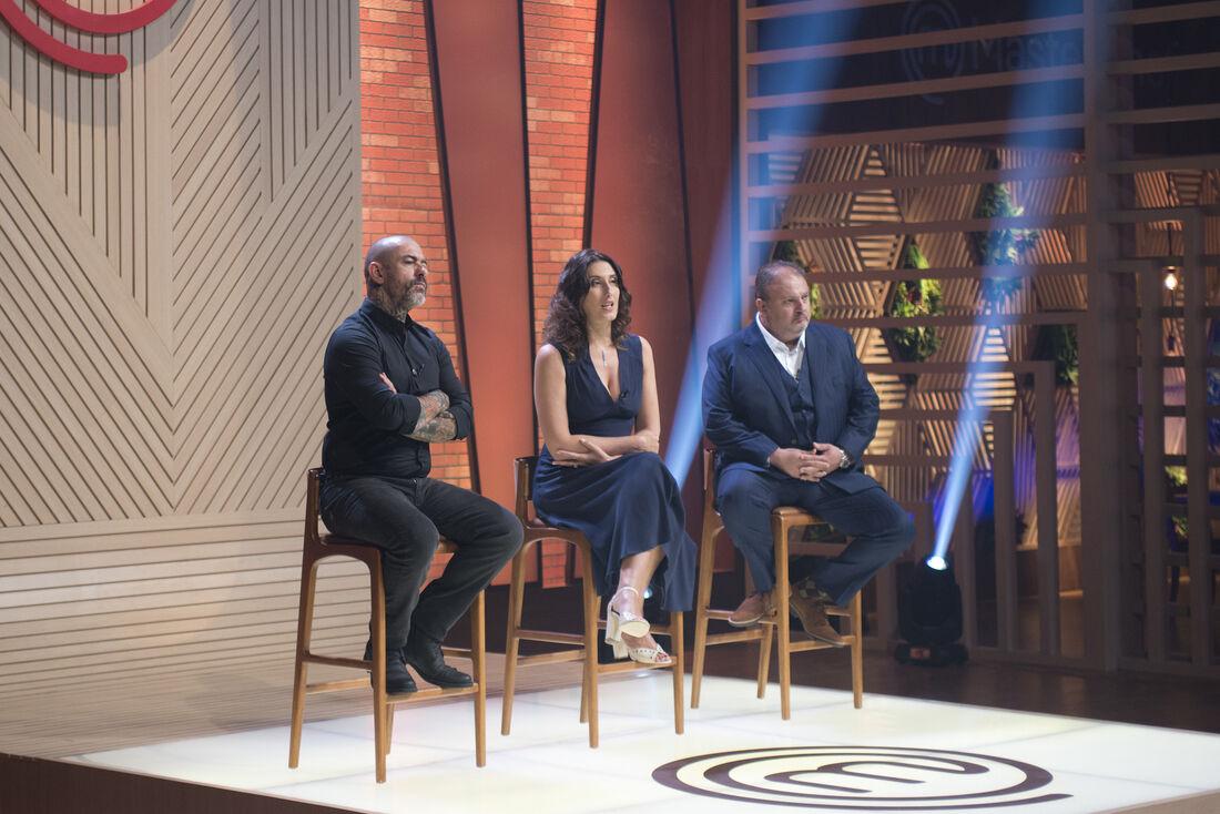 """Henrique Fogaça, Paola Carosella e Erick Jacquin, os jurados do """"MasterChef Brasil"""""""