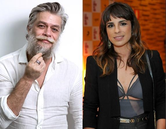 Fábio Assunção e Maria Ribeiro estão namorando