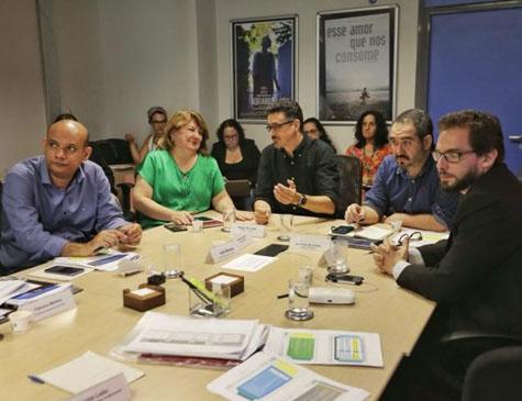 Reunião do Comitê Gestor do Fundo Setorial do Audiovisual no último dia 26 de março