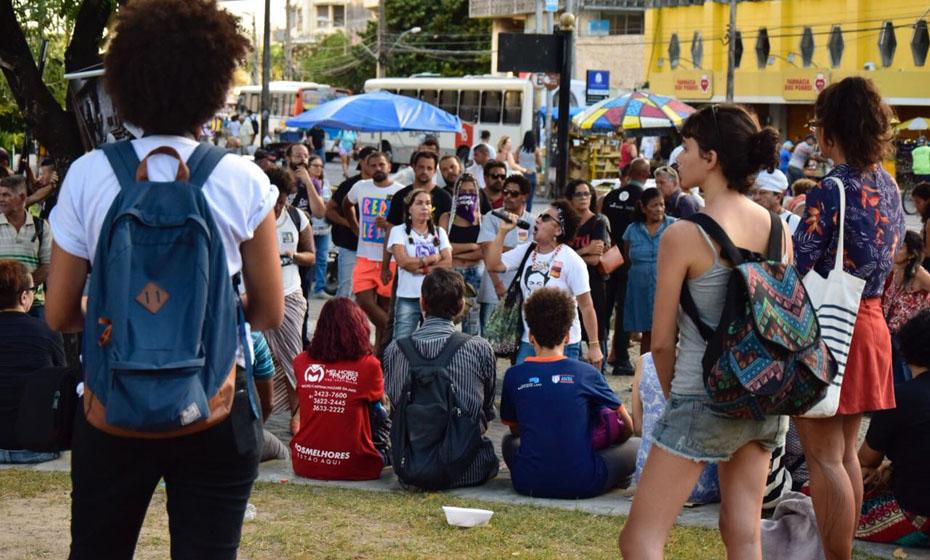 Ato interreligioso acontece na praça da independência nesta terça-feira(20) à tarde.