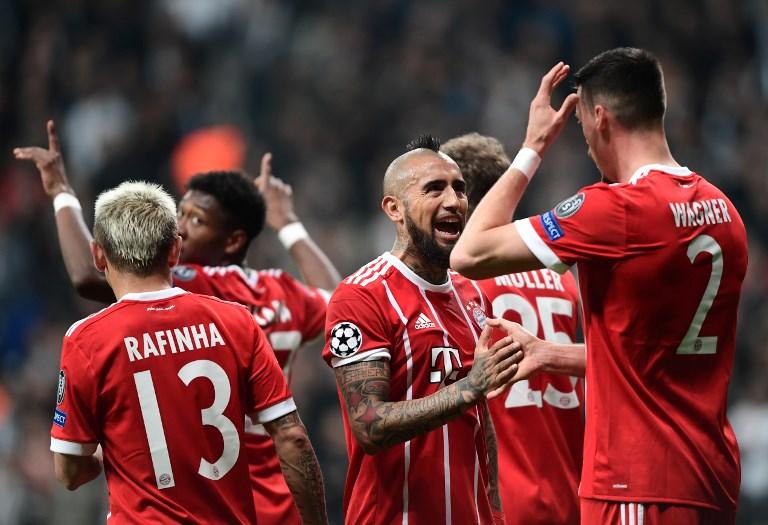 Bayern segue soberano no futebol alemão