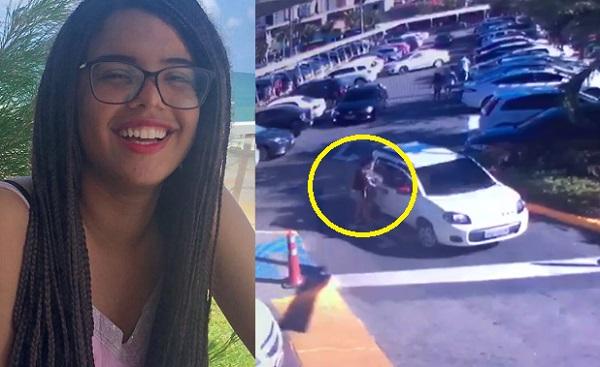 Alana pegou um transporte no Shopping Recife e foi até o Aeroporto