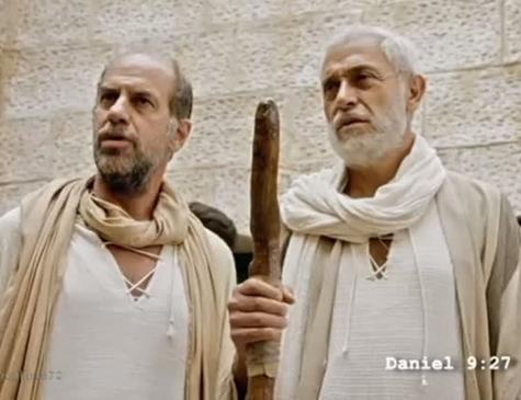 Moisés e Elias em 'Apocalipse'