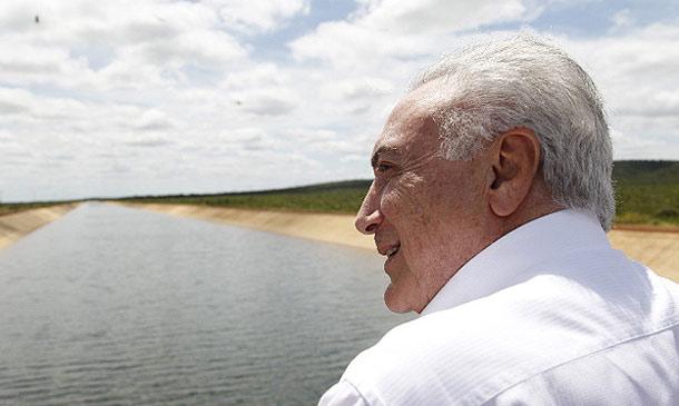 Michel Temer na Bahia