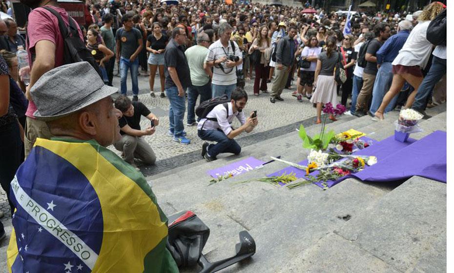 Enterro da vereadora Marielle Franco