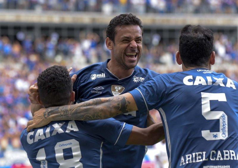 Fred, atacante do Cruzeiro