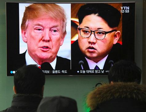 Kim Jong Un e Donald Trump