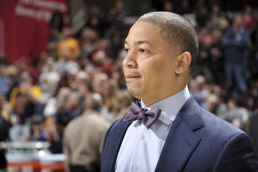 Tyronn Lue, treinador do Cleveland Cavaliers