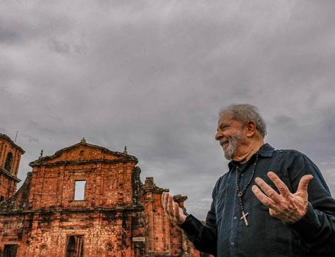 Lula visita o Sítio Arqueológico de São Miguel Arcanjo, em São Miguel das Missões, no Rio Grande do Sul