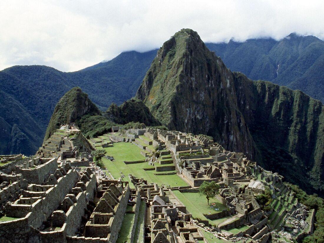 Machu Picchu, cidadela inca