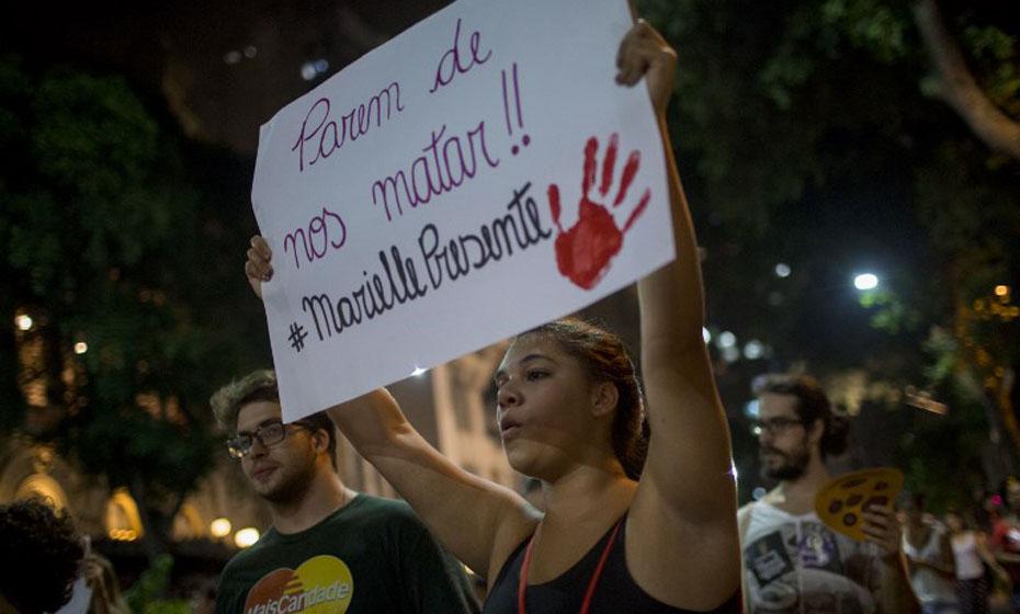 Manifestação no Rio de Janeiro