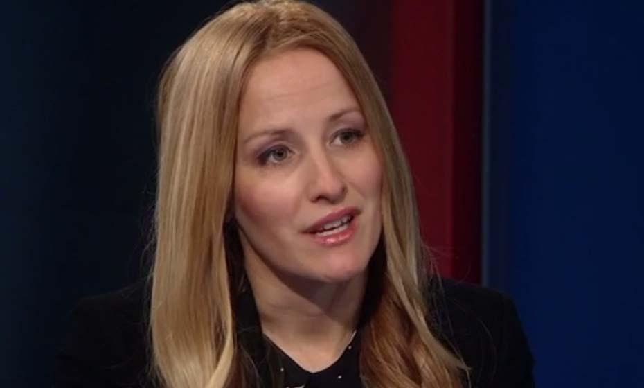 Martina Brostrom em entrevista à CNN