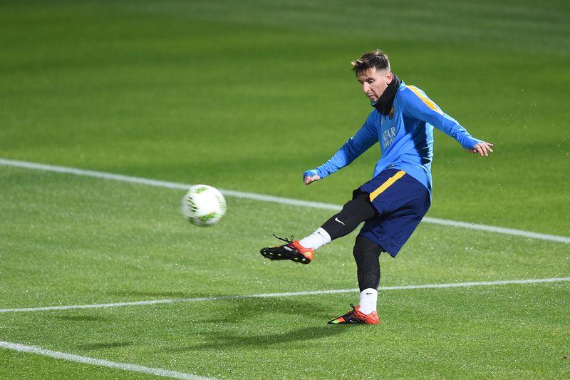 Messi é dúvida para jogo do Barcelona