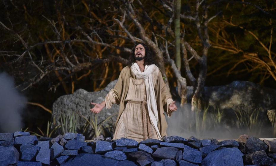 A paixão de Cristo de Nova Jerusalém 2018