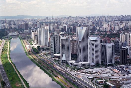 Bairro de Pinheiros, em São Paulo