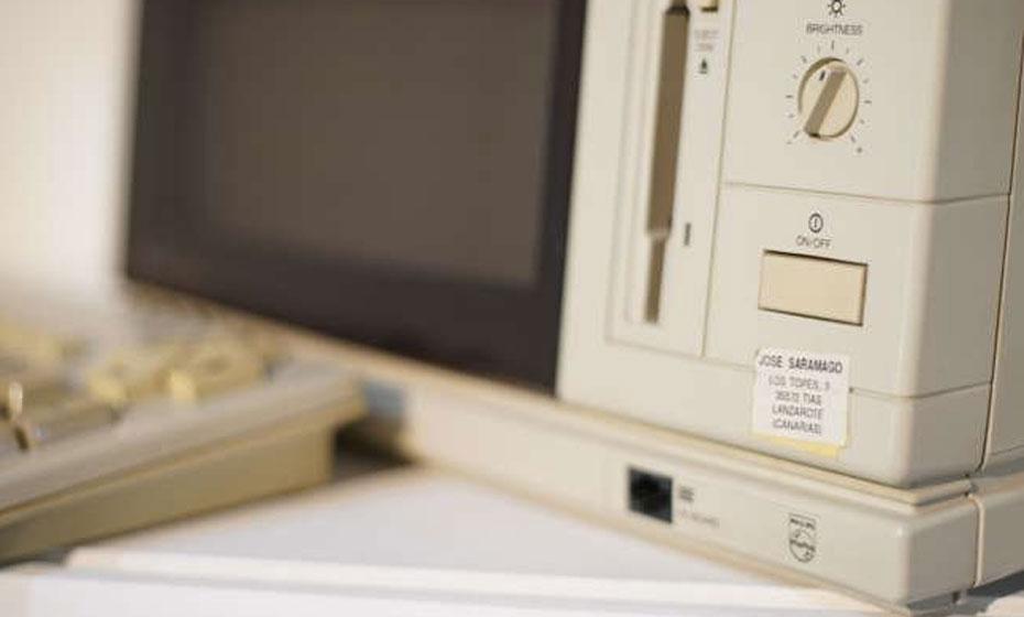 Computador onde Saramago escreveu seus livros
