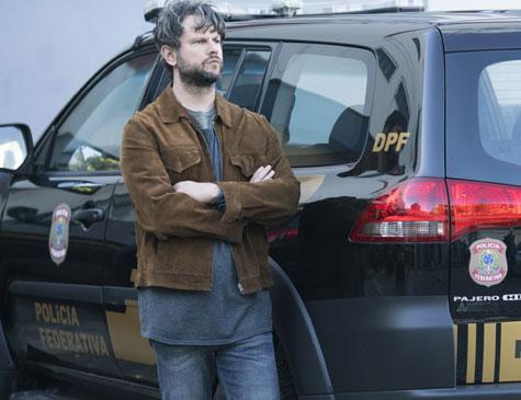 Selton Mello interpreta o delegado da Polícia Federal, Marco Ruffo