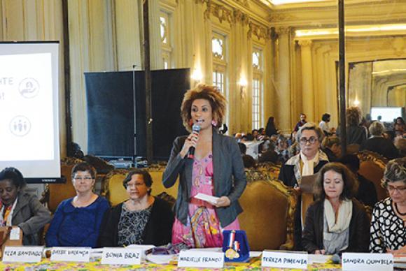 Vereadora Marielle Franco foi a quinta mais votada das últimas eleições e tinha base na favela da Maré