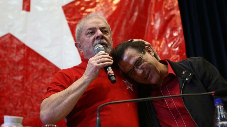 Luiz Marinho e Lula
