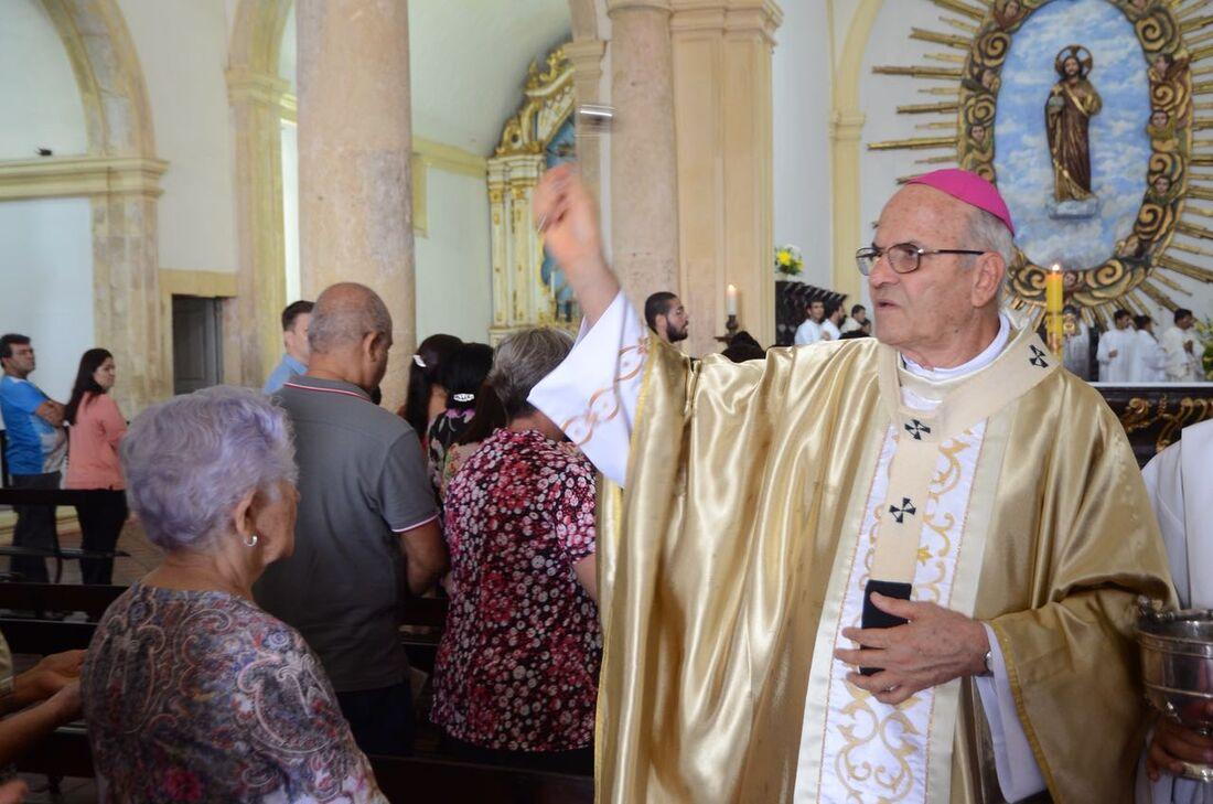 Missa da Ressurreição na Catedral da Sé foi celebrada por dom Fernando Saburido