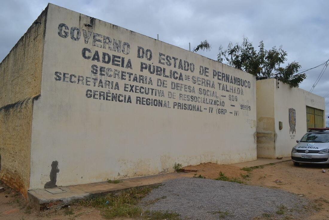 Cadeia Pública de Serra Talhada, no Sertão