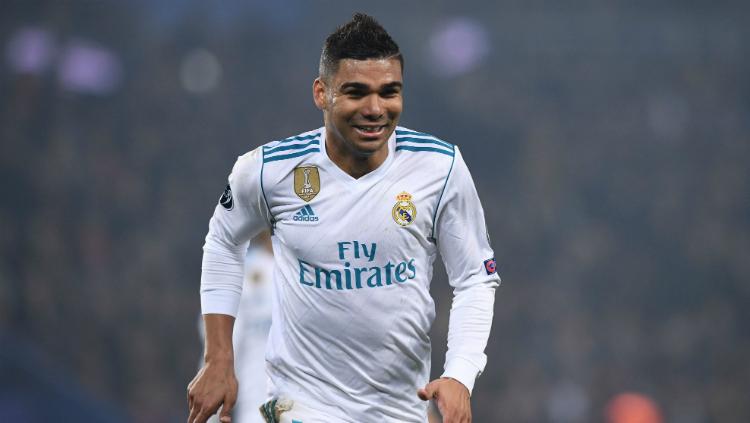 Casemiro é um dos principais jogadores do Real Madrid