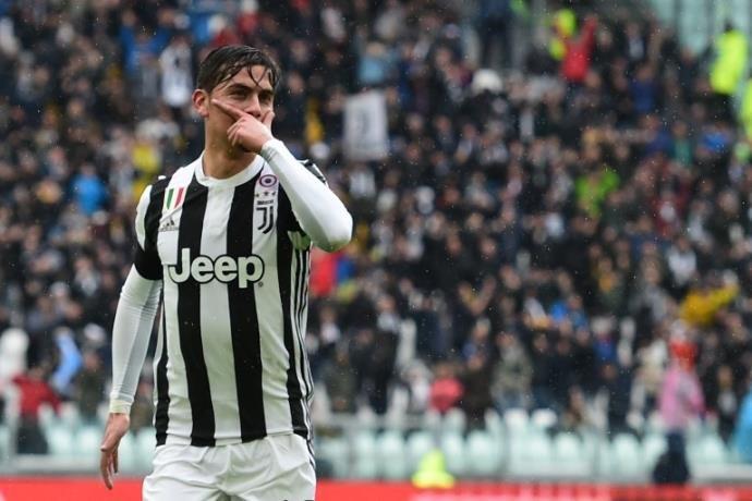 Argentino Dybala, destaque da Juventus
