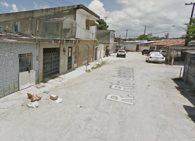 Rua no Ipsep onde aconteceu o crime