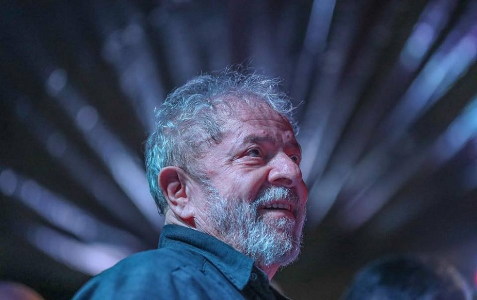 Ex-presidente Lula, no Sindicato dos Metalúrgicos do ABC