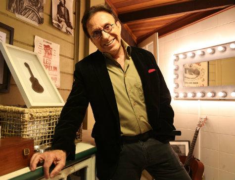 Cantor, ator e humorista Moacyr Franco
