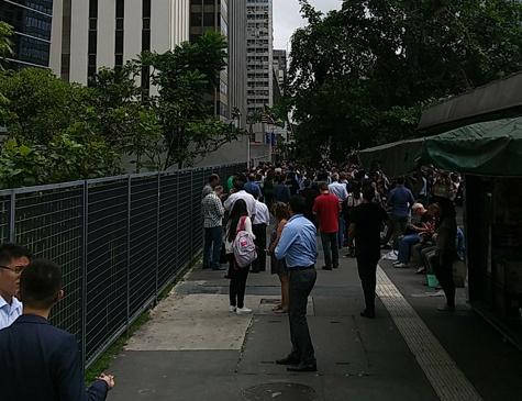 Prédios foram evacuados na avenida Paulista, em São Paulo
