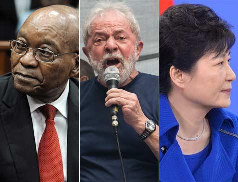 Park Geun-hye, Lula e Zuma